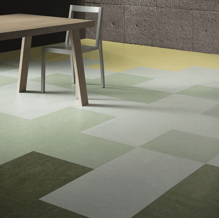 Large Porcelain Tiles and Hexagons
