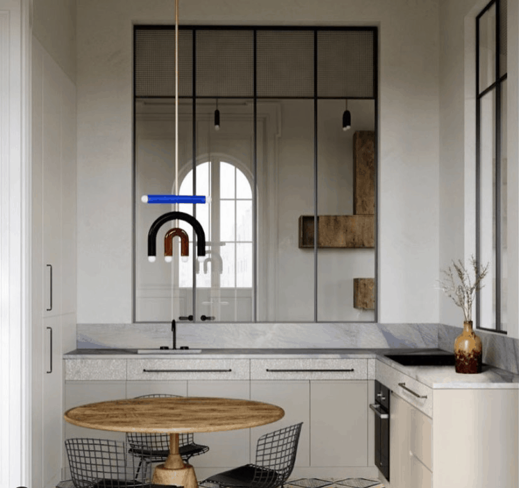 Small Kitchen Ideas 2022 Mirror Walls