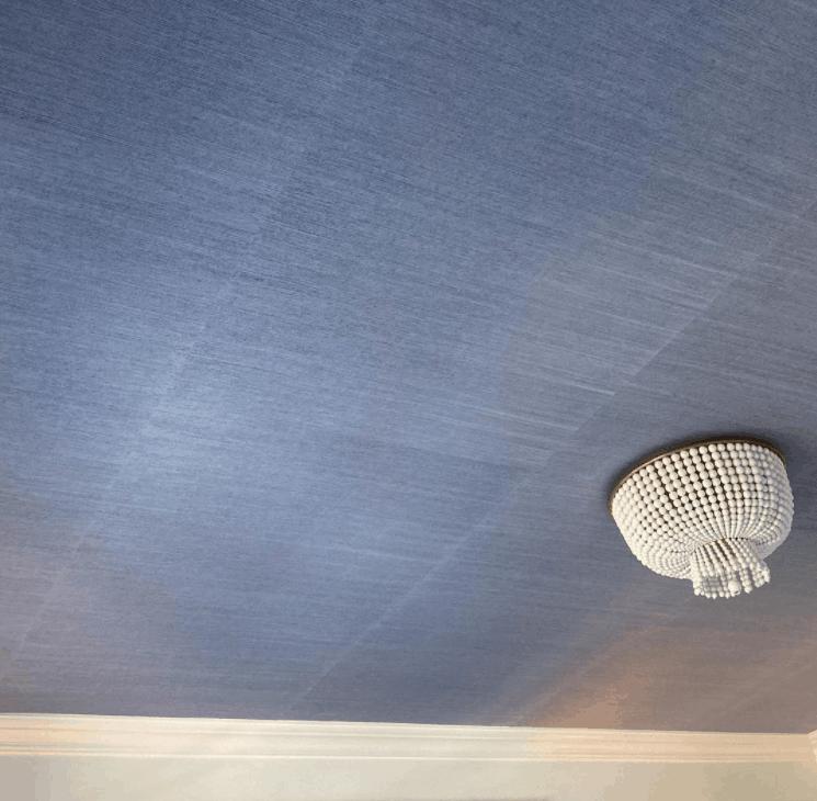 Silk Plaster (Liquid Wallpaper) for the ceiling design 2022