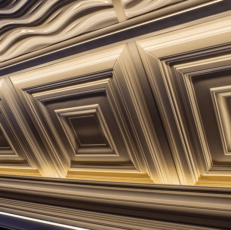 Stretch ceilings 2022: 3D