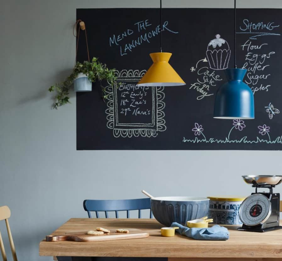 Dining Room Ideas 2022: Writing Board