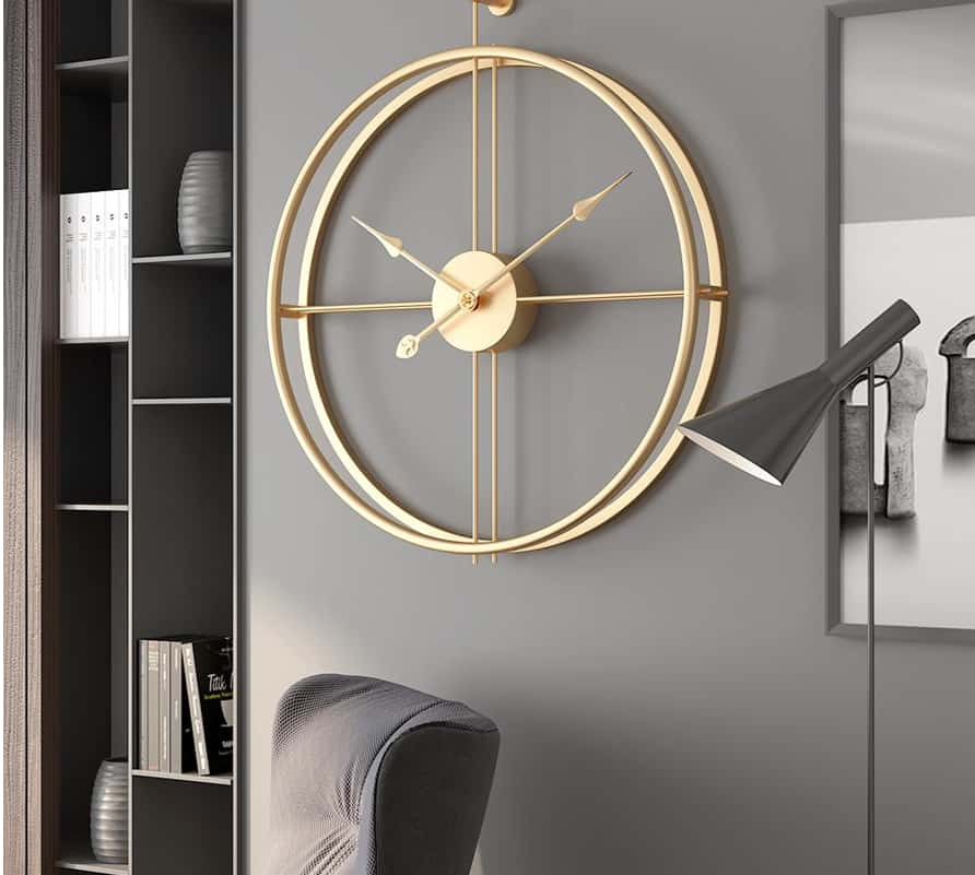 Office Ideas 2022: Clock With Transparent Dial