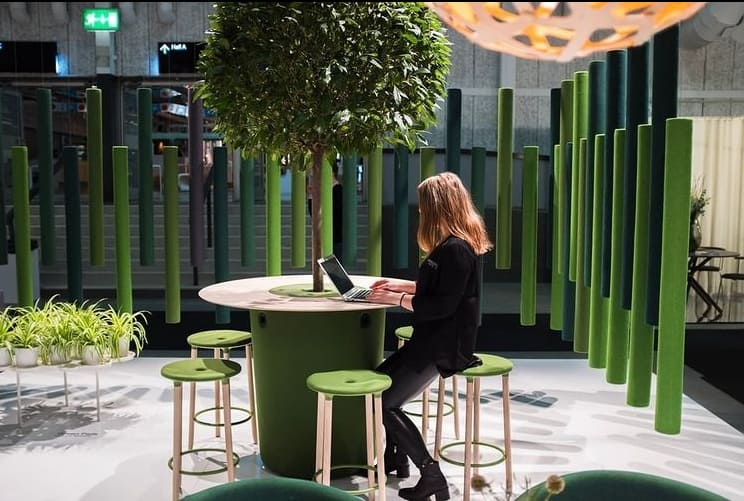 Paired Tables For Open Space Office Trends 2022