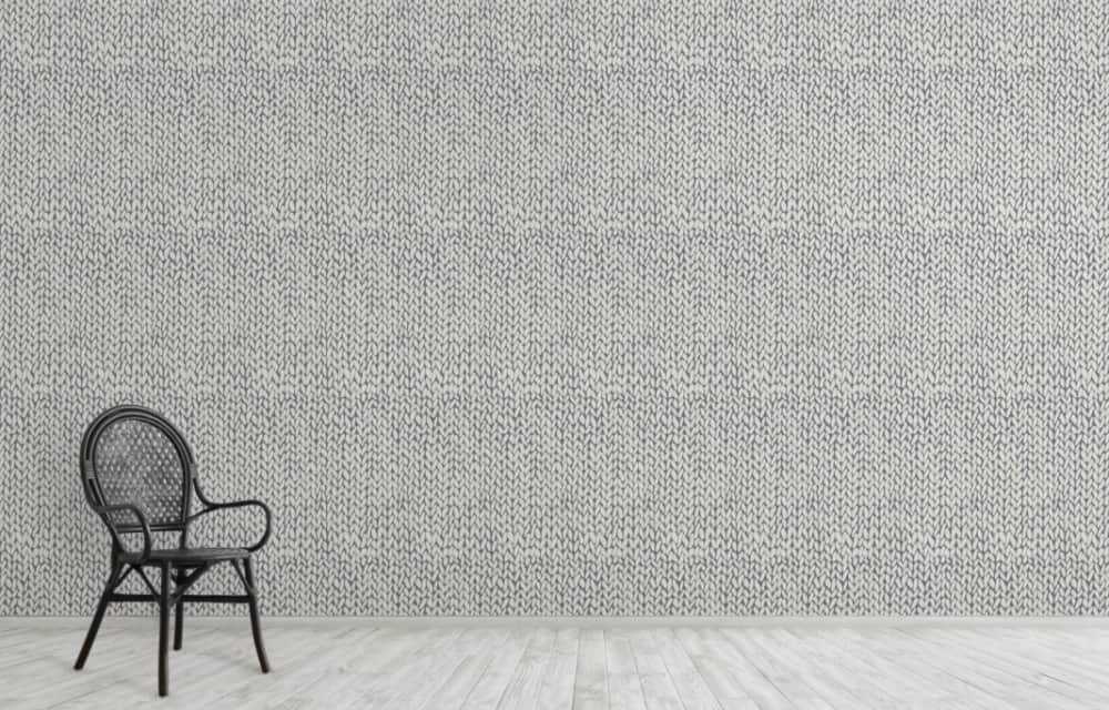 Modern Wallpaper 2022: Knitted Wallpaper