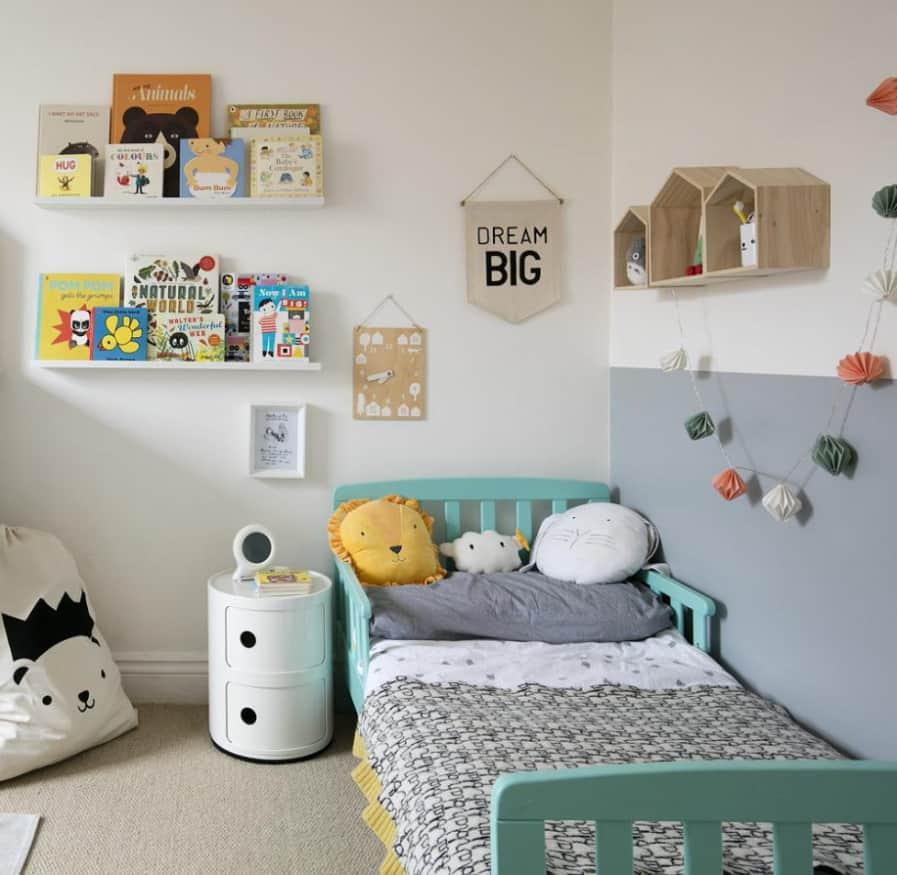 Bright Books kids room ideas 2022