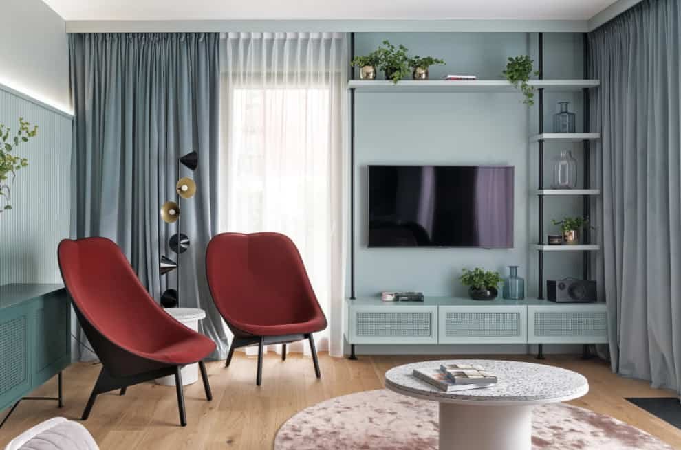 Curtain Trends 2022: Colors gray