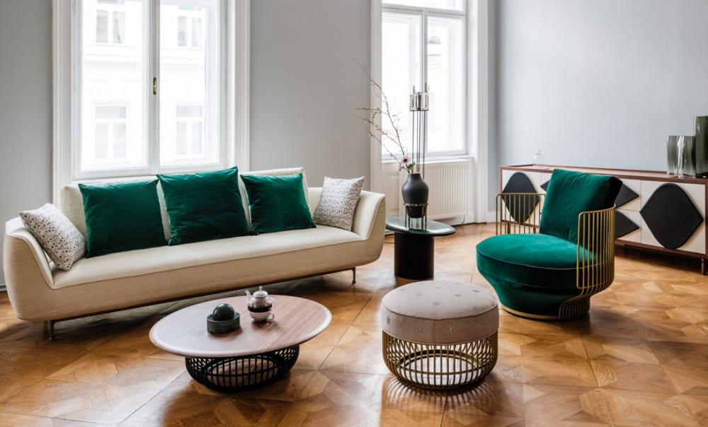 Beautiful Living Room Design Ideas: Smooth Lines 2022