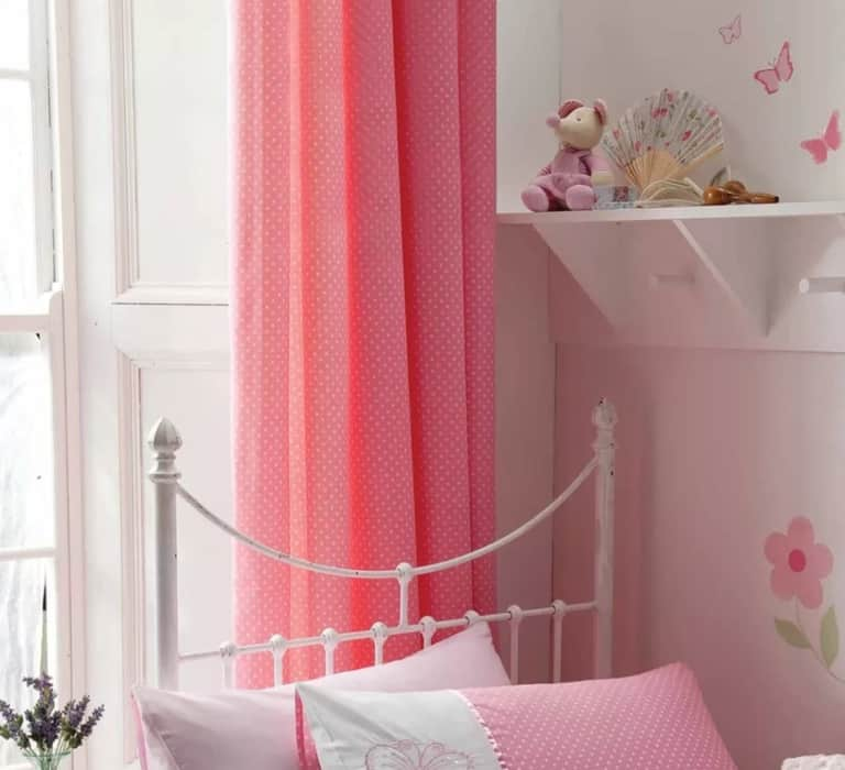 Kids Room Curtains With Polka Dots 2022